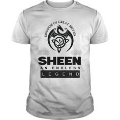 Kingdom of great britain SHEEN AN ENDLESS LEGEND T Shirt Design