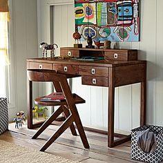 Pierce's desk?