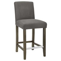 Fabric and Wood Counter Stool/Bar & Counter Stools/Dining Room/Furniture|Bouclair.com