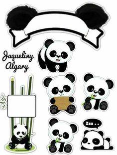 Resultado de imagem para topper panda