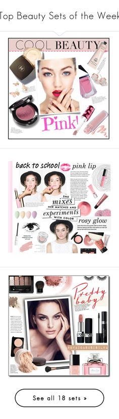 """""""Top Beauty Sets of the Week"""" by polyvore ❤ liked on Polyvore featuring beauty, GUiSHEM, Chanel, Chantecaille, Bobbi Brown Cosmetics, Lime Crime, Ippolita, Burt's Bees, Clarins and Kate Spade"""