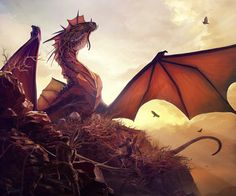 Dragon's Nest by James Wolf Strehle