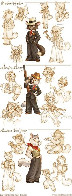 Lackadaisy Marigold by *tracyjb on deviantART join us http://pinterest.com/koztar/