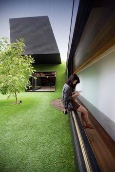 Modern Australian Home With Astroturf | POPSUGAR Home