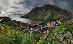 Невероятно эстетичная сельская жизнь - Норвежская деревня фоторепортаж - Colors.life