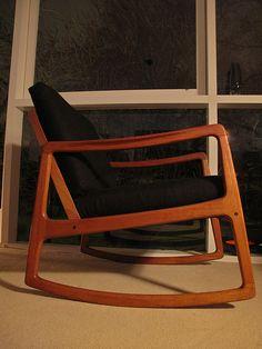 Ole Wanscher Rocking Chair   www.mcm-interiors.blogspot.com …   Flickr