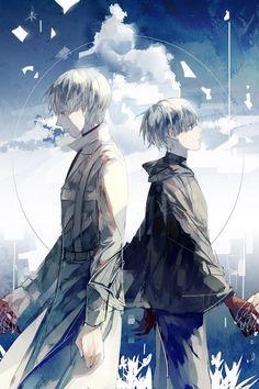 Arima and kaneki.