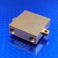 WBA-1.62-0.55-CU-01 is a small copper water block CNC machined from a solid copper block.  It is used to remove heat from electronic components such as CPUs, peltiers, IGBTs, thermoelectric generators, lasers, etc. Water blocks can also be used to chill liquids and gases by using a peltier device to cool down the water block.  Then, a gas or liquid passing through the water block would be cooled.