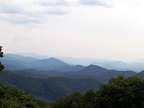 Blue Ridge Mountains - Wikipedia, the free encyclopedia-Viewed from the Chimney Rock Mountain Mountain Landscape, Mountain View, Mountain Pictures, Nashville Tennessee, East Tennessee, Appalachian Mountains, Blue Ridge Mountains, Asheville Nc, New Hampshire