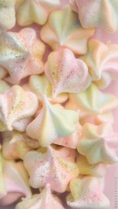 Rainbow Meringue Kisses _ Bakers Royale