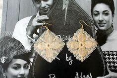 Ohrringe - Ohrringe aus Spitze - ein Designerstück von Coco-Mademoiselle1 bei DaWanda