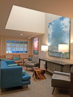 Tacoma Seattle counseling practice interior design