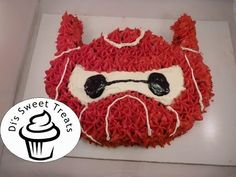 Big Hero 6- Baymax Cake- Di's Sweet Treats - YouTube