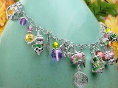 Inspirational Beading: How to Make Charm Bracelet Tutorials