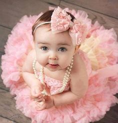Beautiful Baby Girl in Pink.