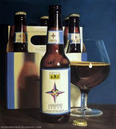 Bell's Expedition Stout by Cara Thayer and Louie Van Patten