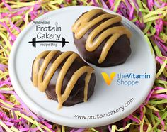 Chocolate Peanut Butter Protein Eggs - NO BAKE - super simple, peanut butter protein filling (for 6 servings) is 1/4 cup peanut butter, 1/4 cup protein powder, 2 T filtered water,