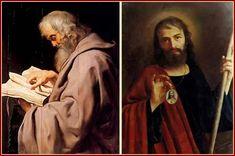 Puntadas de santos: Santoral del 28 de Octubre San Simón y San Judas Tadeo