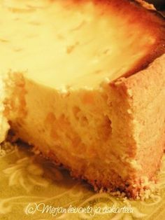 Cornbread, Sweet Recipes, Delicious Desserts, Cheesecake, Deserts, Food And Drink, Peach, Cupcakes, Baking