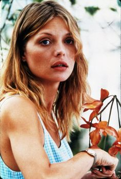 """I was kind of surprised to learn how controlling I am. I never thought of myself in that way. I think the root of the control issues is usually fear, bc u want to know what's going to be happening at any given moment."""" Michelle Pfeiffer"""