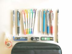 what's in my pencil case?