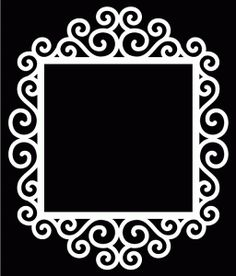 Free Digital Cutting Files – Page 63 Silhouette Cameo Projects, Silhouette Design, Silhouette Frames, Diy And Crafts, Paper Crafts, Kirigami, Paper Cutting, Cutting Files, Picture Frames