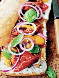 Roasted Pepper Sandwich