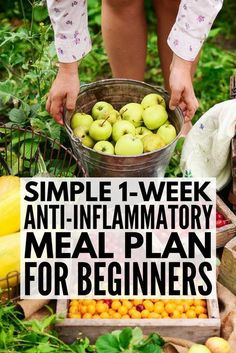 Anti-Inflammatory Diet for Beginners Looking for an anti-inflammatory meal plan to help boost your immune system keep your autoimmune disease under control and aid in weight loss We ve put together a meal plan for beginners complete with Dieta Anti-inflamatória, Dieta Paleo, Paleo Autoinmune, Paleo Diet For Beginners, Pilates For Beginners, Dietas Detox, Detox Plan, Weight Loss Meals, Weight Gain