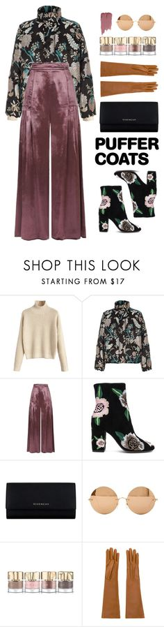 """Old rose"" by abella07 ❤ liked on Polyvore featuring River Island, Temperley London, Rebecca Minkoff, Givenchy, Victoria Beckham, Smith & Cult, Jil Sander, Charlotte Russe and puffercoats"