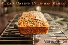 What is gluten free, delicious for breakfast (or dinner), and pumpkin all over?