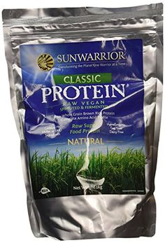 The Product Sunwarrior Classic Wholegrain Brown Rice Protein, Natural 2.2 lbs by Sunwarrior  Can Be Found At - http://vitamins-minerals-supplements.co.uk/product/sunwarrior-classic-wholegrain-brown-rice-protein-natural-2-2-lbs-by-sunwarrior/