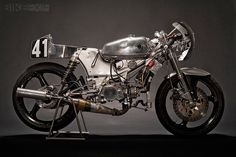 There's a beauty in the stripped-down aesthetics of a pure racing motorcycle. Especially one hewn from metal, like this circa-1980 Kreidler RMC.