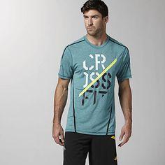 Men s Reebok CrossFit Cupron Short Sleeve Graphic Tee  cdf0af6260deb