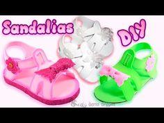 DIY sandalias en goma eva - Patrones gratis