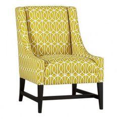 chloe chair in citrine - crate & barrel