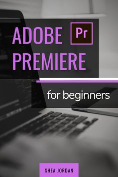 Fern Photo, Learn how to edit videos in Adobe Premiere Pro. This video covers all the basics of and how to make videos in Adobe Premiere. Adobe Illustrator Tutorials, Adobe Premiere Pro, Good Tutorials, Photography And Videography, Ms Gs, Blogging For Beginners, Video Editing, How To Introduce Yourself, Tricks