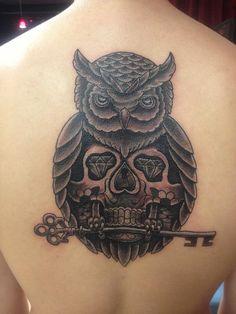 owl tattoos   Owl Tattoo Picture   Last Sparrow Tattoo
