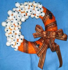 PepperiPaja: Halloween wreath
