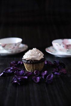 In Her Smell: Cupcake triplo cioccolato con crema al Bailey's