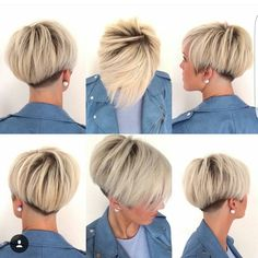 "FIIDNT short hairstyles on Instagram: ""Great collage by @lavieduneblondie"""