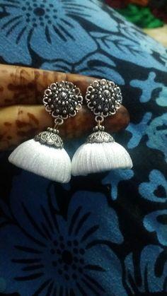 Silt thread jewellery my work