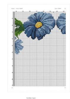 Baby Dress Patterns, Flower Patterns, Cross Stitch Flowers, Cross Stitch Patterns, Prayer Rug, Cross Stitching, Daisy, Kids Rugs, Crochet