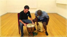 Five(ish) Minute Drum Lesson - African Drumming: Lesson 2: The Fanga