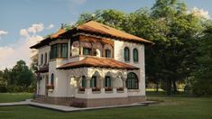 Classic Architecture, Village Houses, Home Fashion, Romania, Tiny House, Diy And Crafts, 21st, House Design, Mansions