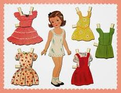 Printable paper dolls are so cute for little girls birthday parties.use them as treat bag favors or Free Printable Art, Paper Dolls Printable, Little Girl Birthday, Little Girls, Clothes Crafts, Doll Clothes, Vintage Paper Dolls, Bisque Doll, Paper Toys