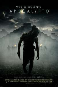 Apocalypto   ~ starring Rudy Youngblood, & produced by Mel Gibson  awesome movie