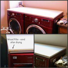 Diy Wooden Washer Dryer Pedestal Alternative To Buying
