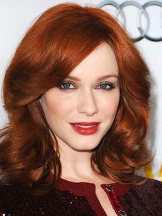 redheads christina hendricks apricot