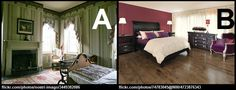 It's You Choose Tuesday! Which bedroom do you prefer, A or B?