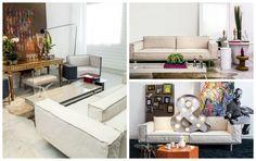 Três formas de mudar a cara do sofá trocando apenas os acessórios